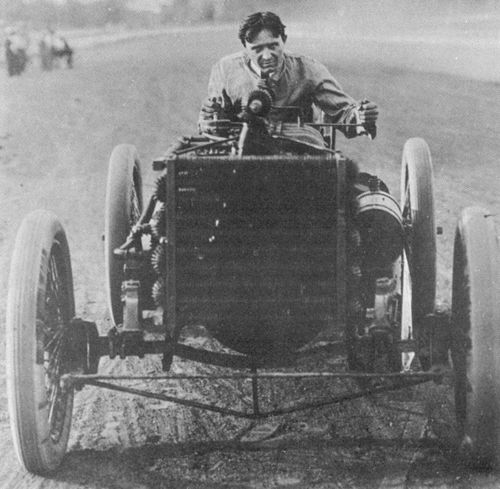 1902 grosse pointe, michigan - barney oldfield (ford 999 16,2-litre) 2