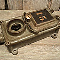 Ancien Interrupteur d'Usine Prise Electrique <b>Déco</b> Industrielle Loft Numéro 13
