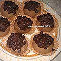 Boules danette, fourrés aux chocolat
