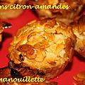Muffin citron amandes