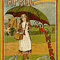 April Showers by <b>Mabel</b> Dearmer, illustrated by George Lambert