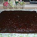 Moelleux choco betterave, sans beurre ni sucre ; participation recette autour d'un ingrédient #18