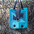 <b>sac</b> à main turquoise
