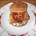 Fish <b>burger</b> à la plancha