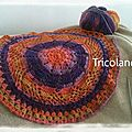 Gilet rond au crochet [ encours ]