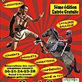 Les lemovices en fete : journees gauloises de st gence 2 et 3 juillet 2016