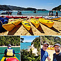 Honeymoon to New Zealand : <b>Abel</b> <b>Tasman</b> and the west coast