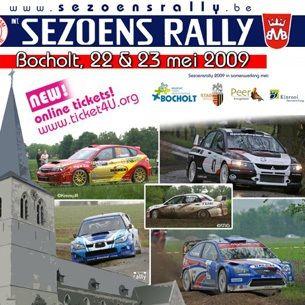 Sezoens rally 2009 2