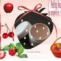 Compotée peeling doux d'<b>Acides</b> de <b>Fruits</b> en mousse de <b>fruits</b> rouges