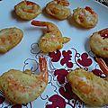 *** beignets de crevettes ***