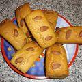 Minis pains d'épices aux amandes