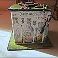 October's challenge at <b>Crafty</b> <b>Individuals</b> - 3D Halloween project / Challenge d'octobre <b>Crafty</b> <b>Individuals</b> en mode Halloween