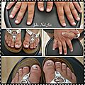 Gel polish french mains et pieds