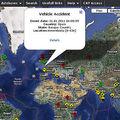 Une carte mondiale en temps réel de toutes les catastrophes mondiales