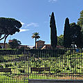 Ripa / Aventino - Jours tranquilles sur l'Aventin (8/13). La Roseraie communale.