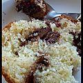 Le réconfort... - gâteau au yaourt, tourbillons de nutella