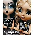 ~ Contes pour petites filles libertines, Nadine Monfils