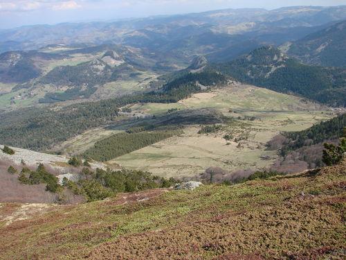 2008 04 24 Paysage depuis le sommet du Mont Mézenc (7)