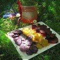 Cadeau : cocktail et chips tricolores