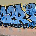 Blue graff