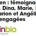Mon témoignage pour promouvoir le végétarisme sur le site <b>fémininbio</b>