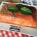 Terrine de saumon fumé