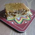 Tarte aux pommes, cannelle et crème d'amandes
