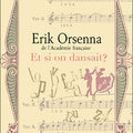 Erik Orsenna - Et si on dansait?