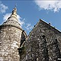 L' église du guerno, morbihan