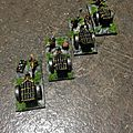 Warmaster nains artillerie, canons orgues