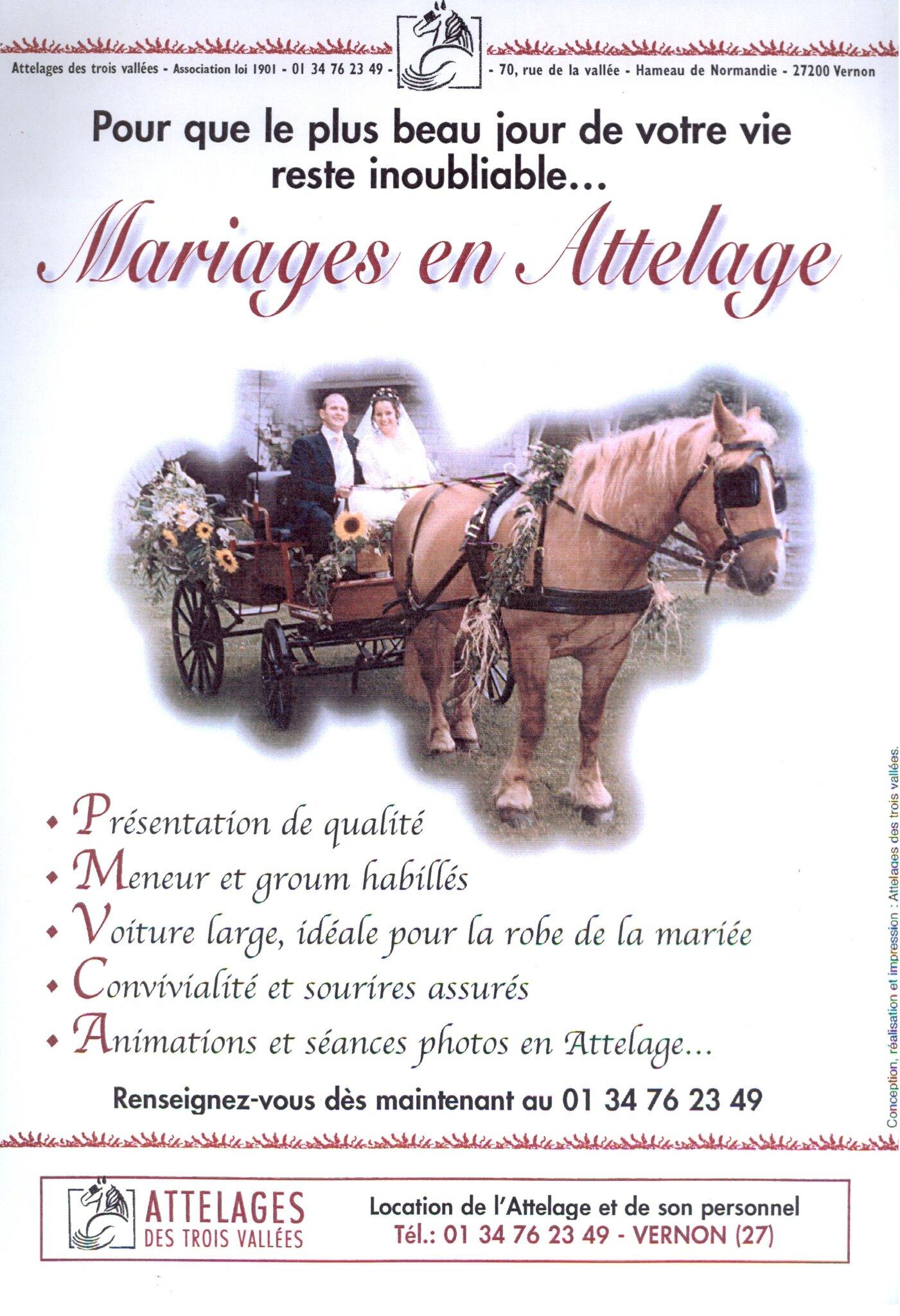 Mariage, affiche
