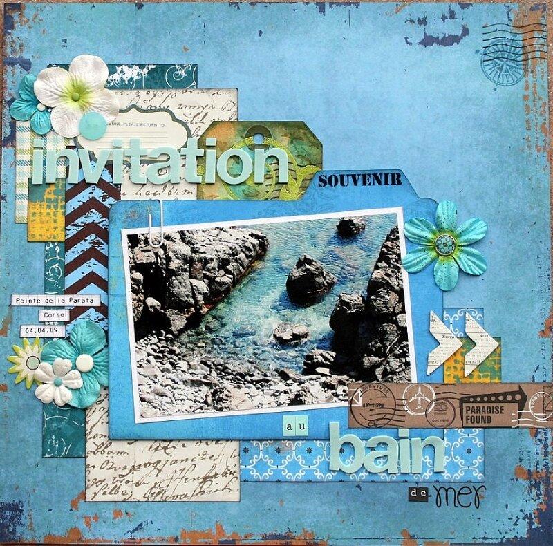 invitation au bain de mer
