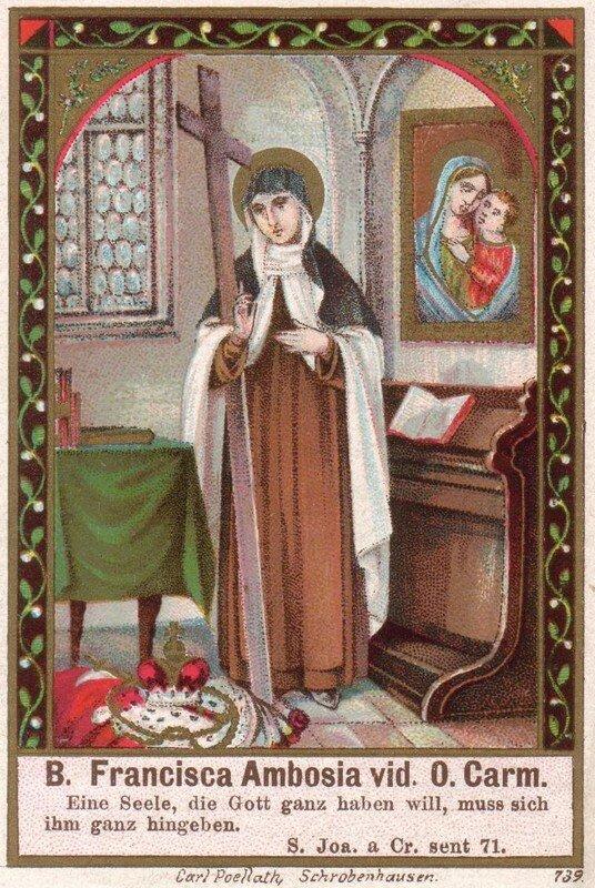Bienheureuse Françoise d'Amboise
