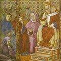 Saint François à Rome, devant le Pape