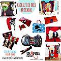 Idee de Cadeau Original chez Crapule FActory pour Noel pour épater la galerie !! chic <b>kitsch</b> retro pop, maroquinerie...