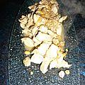Poulet a la citronnelle et gingembre