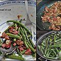 Salade de gésiers aux haricots verts