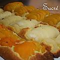 Tarte aux <b>amandes</b> et aux fruits