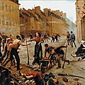 Paupion, Dijon, la barricade de la rue Jeannin, le 30 octobre 1870