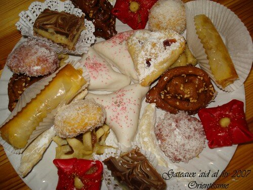 patisseries 'aid al fitr 2007