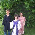 Déguisements-Le sorcier et les princesses