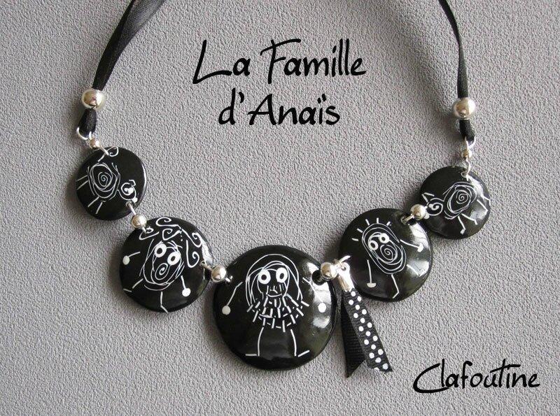 La famille d'Anaïs