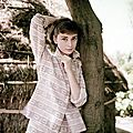1955 war and peace - audrey hepburn par milton greene