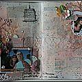 Page art jounal challenge prima
