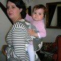 Sophie et sa fille Louise 18 mois