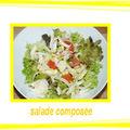 Une belle salade composée