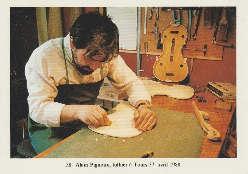 CPM Luthier Tours Alain Pignoux