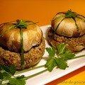 Macarons de champignons aux herbes
