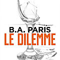 Le dilemme de B.A. Paris