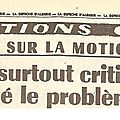 Motion de censure du 5 juin 1962